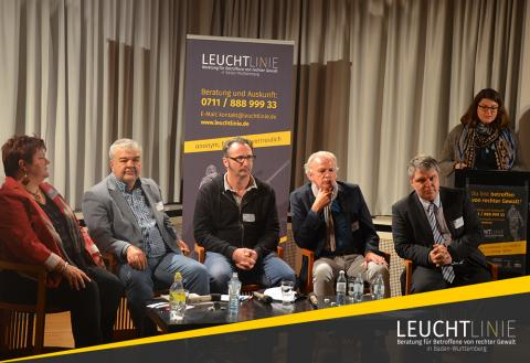 Teilnehmer der Podiumsdiskussion